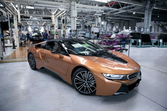 Model BMW i8 discontinued